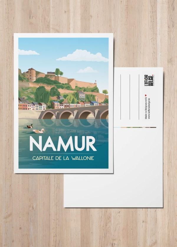 Carte Postale Belgique Namur