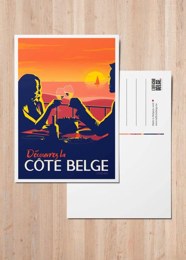 Carte postale Belgique La Cote Belge