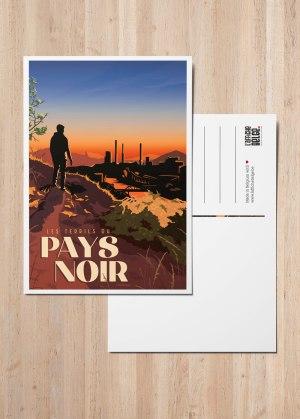 Carte Postale Belgique Charleroi Terrils Usines