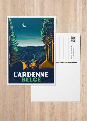 Carte Postale L'Ardenne Belge