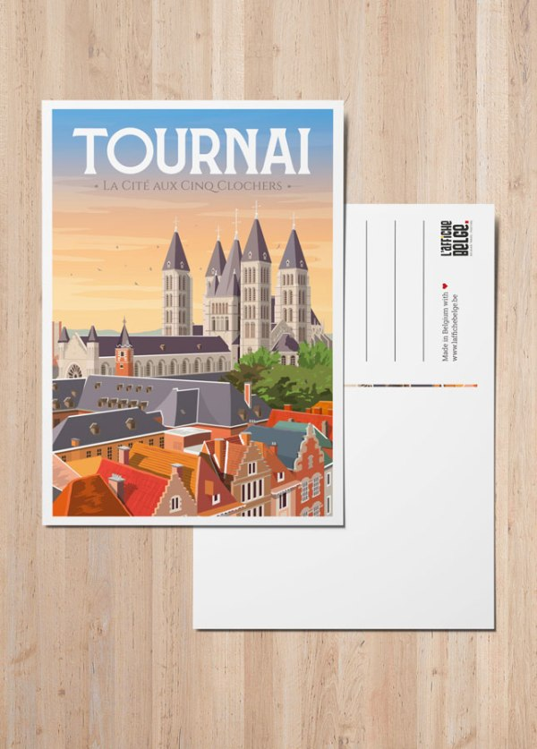"Carte Postale ""Tournai"""