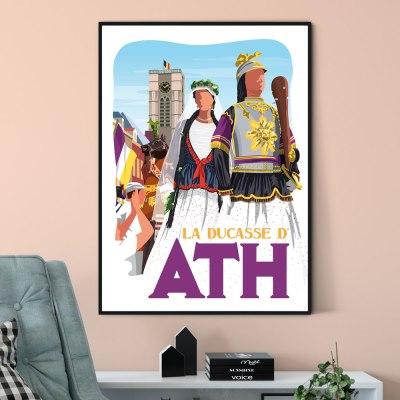 Affiche La ducasse d'ath
