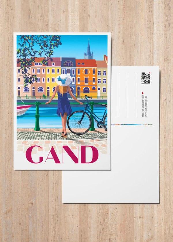 Carte Postale Gand