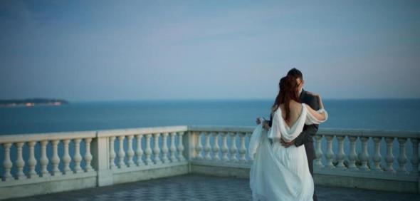 Mariage bord de mer romantique Lovely Pics 1