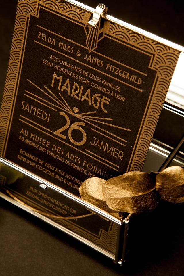 faire-part Art deco Mister M Studio Collection xFDP - Loove photography - LaFianceeduPanda.com 5
