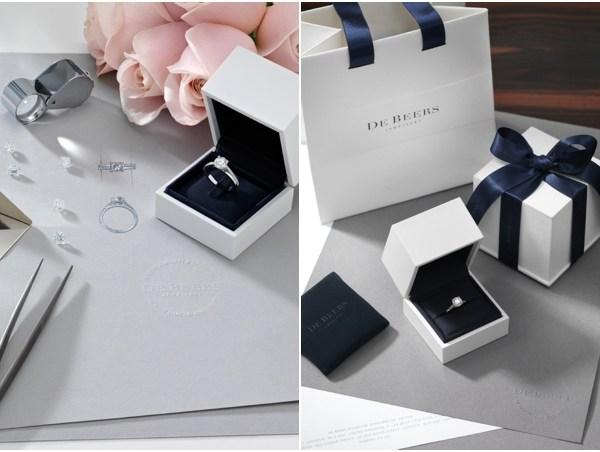 For you for ever De Beers bague de fiancailles sur mesure - La Fiancee du Panda Blog mariage