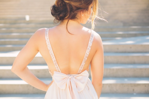 Robe de mariee Etsy sequins - La Fiancee du Panda Blog mariage 4