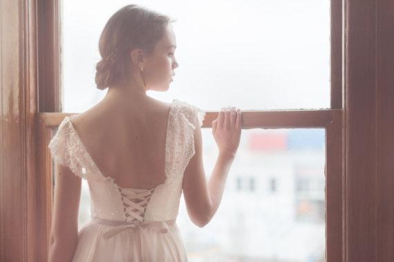 Robe de mariee Etsy sequins - La Fiancee du Panda Blog mariage 8