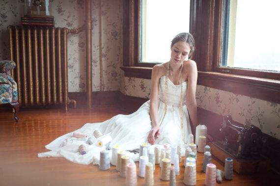 Robe de mariee Etsy sequins - La Fiancee du Panda Blog mariage 9