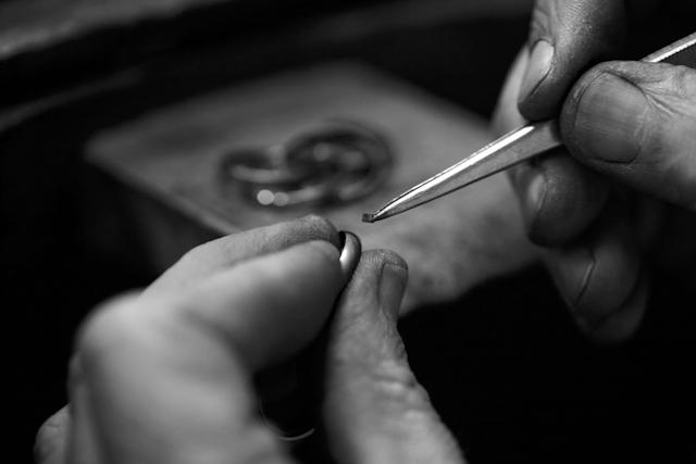 Alliances bague de fiancailles or platine Printemps Joaillerie par Ponce bijoux - La Fiancee du Panda Blog mariage-162