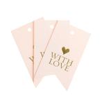 J.Crew cartes tag with love - La Fiancee du Panda Blog Mariage