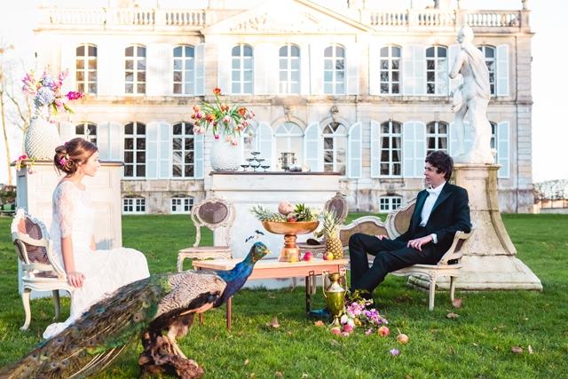 location mobilier deco vintage French Antique Wedding rental - La Fiancee du Panda Blog Mariage