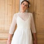 Aurelia Hoang robe de mariee 2015 robe dentelle sixties - Photo Cécile Cayon - La Fiancee du Panda blog mariage et lifestyle