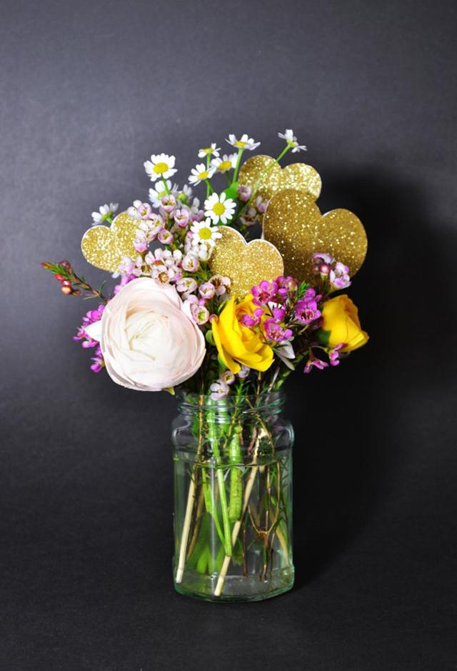 Deco mariage Etsy coeur glitter - La Fiancee du Panda blog mariage et lifestyle