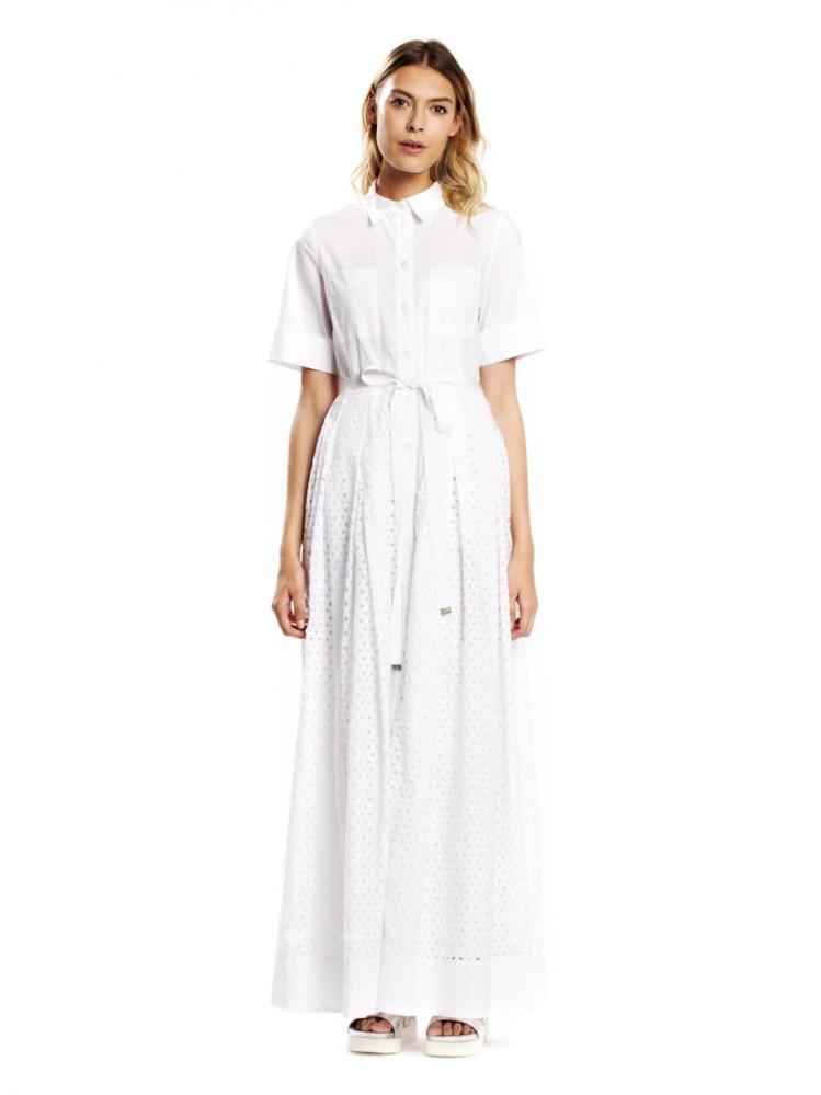 Tara Jarmon robe blanche printemps ete 2015 l La Fiancée du Panda blog mariage