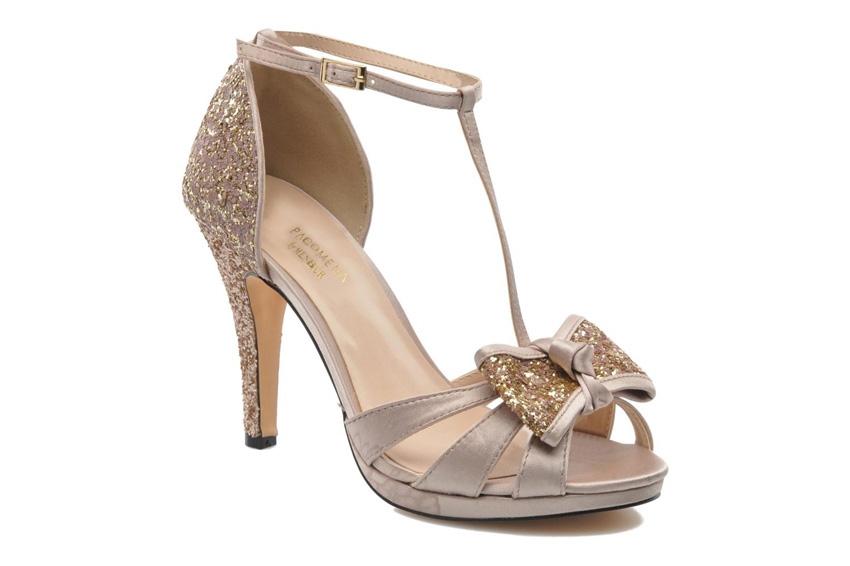 Chaussures dorees mariage l Sandales roses et nude glitter Balsamine Menbur l La Fiancee du Panda blog mariage