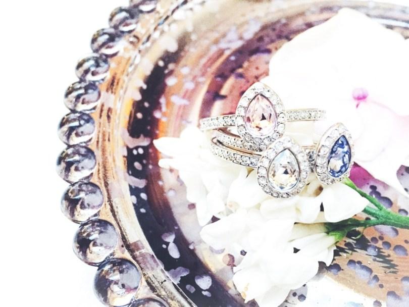 Bague vintage inspiration retro Swarovski l La Fiancee du Panda blog mariage-2