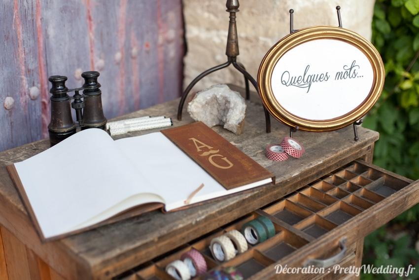 Decoration de mariage style industriel et vintage l Pretty Wedding l La Fiancee du Panda blog mariage-37