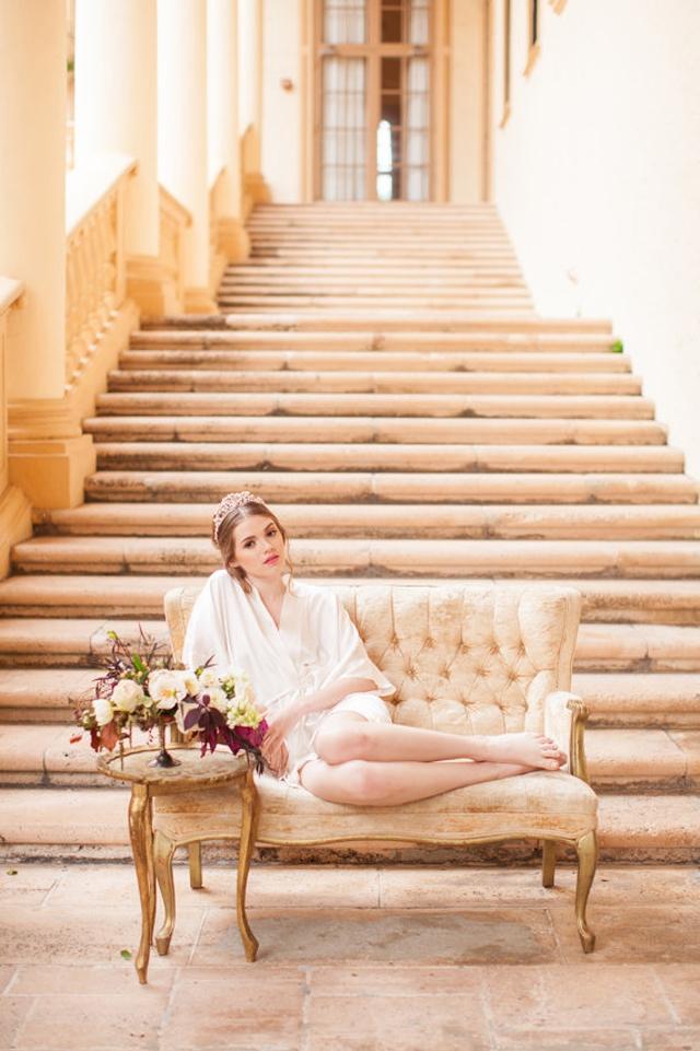 Joli peignoir en soie mariee preparatifs l Etsy l La Fiancee du Panda blog mariage