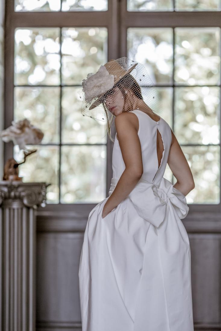 Robe de mariee sur mesure annees 50 modele Dame Blanche l Victoire Vermuelen l La Fiancee du Panda blog mariage-3