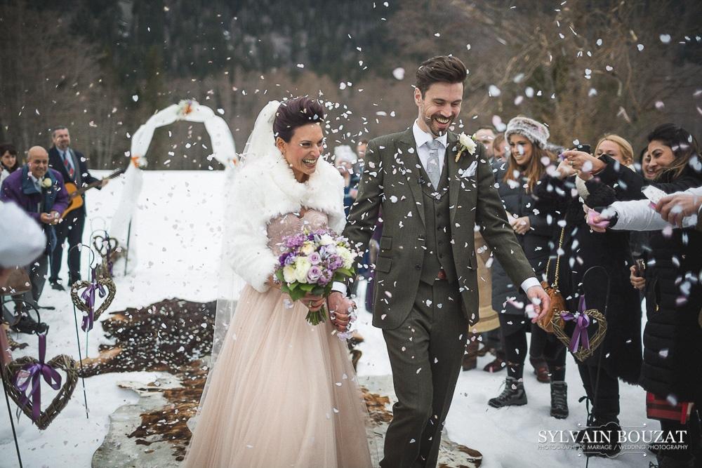 Mariage a Chamonix montagne hiver l Photographe Sylvain Bouzat l La Fiancee du Panda blog mariage--35