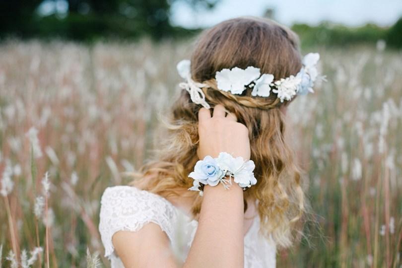 English Garden Accessoire headband mariee fleurs l La Fiancee du Panda blog mariage
