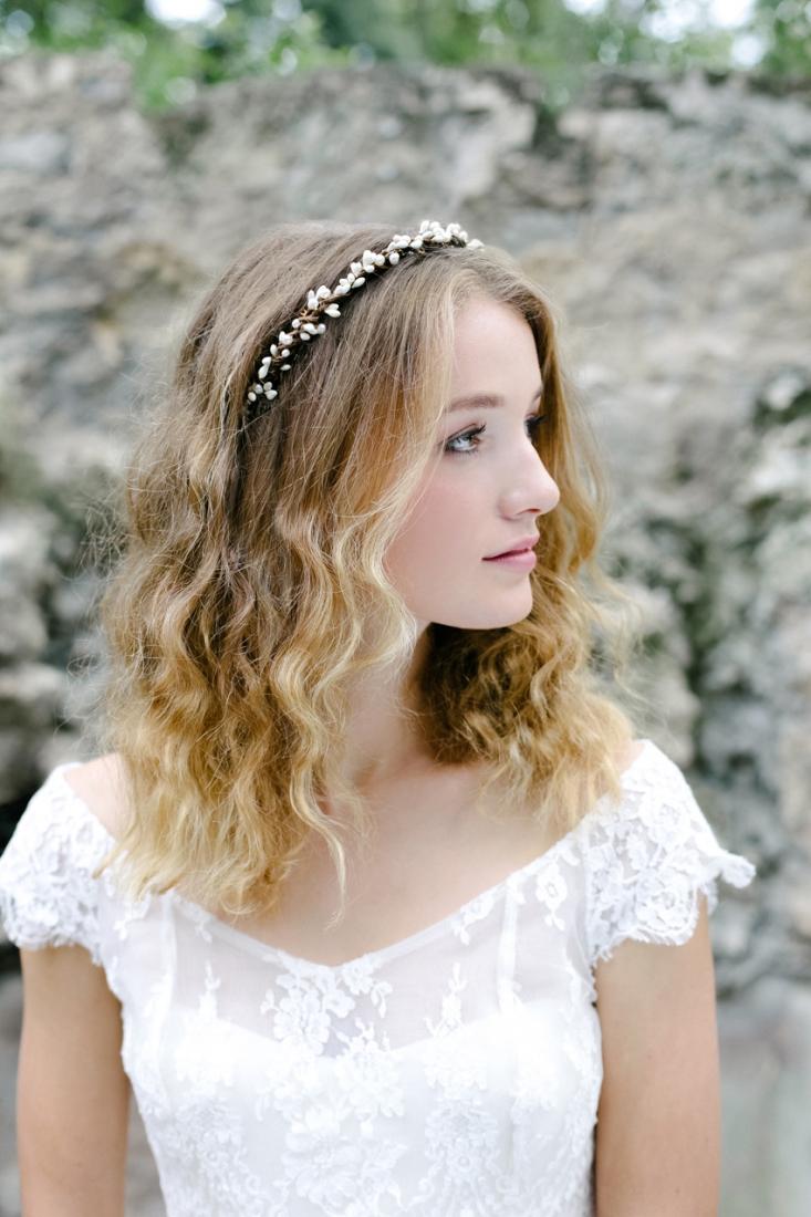 English Garden Accessoire headband mariee pas cher l La Fiancee du Panda blog mariage