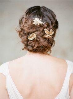 Chignon et tresses: inspiration coiffure mariage