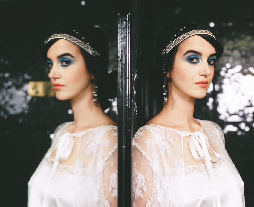 Mariage Art Deco inspiration robe de mariee Stephanie Wolff Paris l Photo Alex Tome l La Fiancee du Panda blog mariage