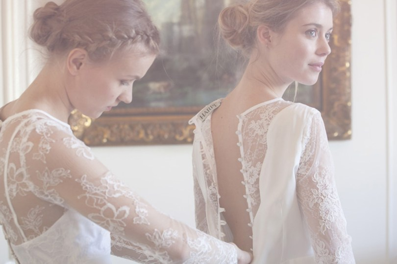 Harpe Paris robe de mariee inspiration dos nu dentelle made in France l La Fiancee du Panda blog mariage
