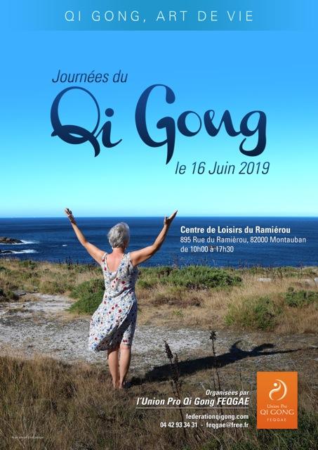 Le Dimanche 16 Juin 2019 «Journée nationale du Qi Gong» Montauban 82