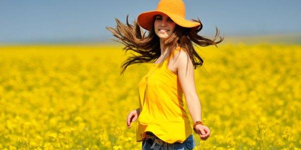 la beauté d'une femme heureuse et épanouie