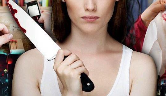 mano donna coltello