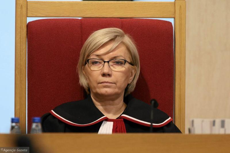 Julia Przylebska, Presidente della Corte Costituzionale polacca
