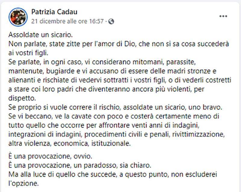 Facebook Patrizia Cadau