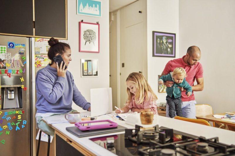 famiglia lavoro