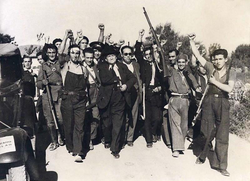 repubblicani guerra civile spagnola