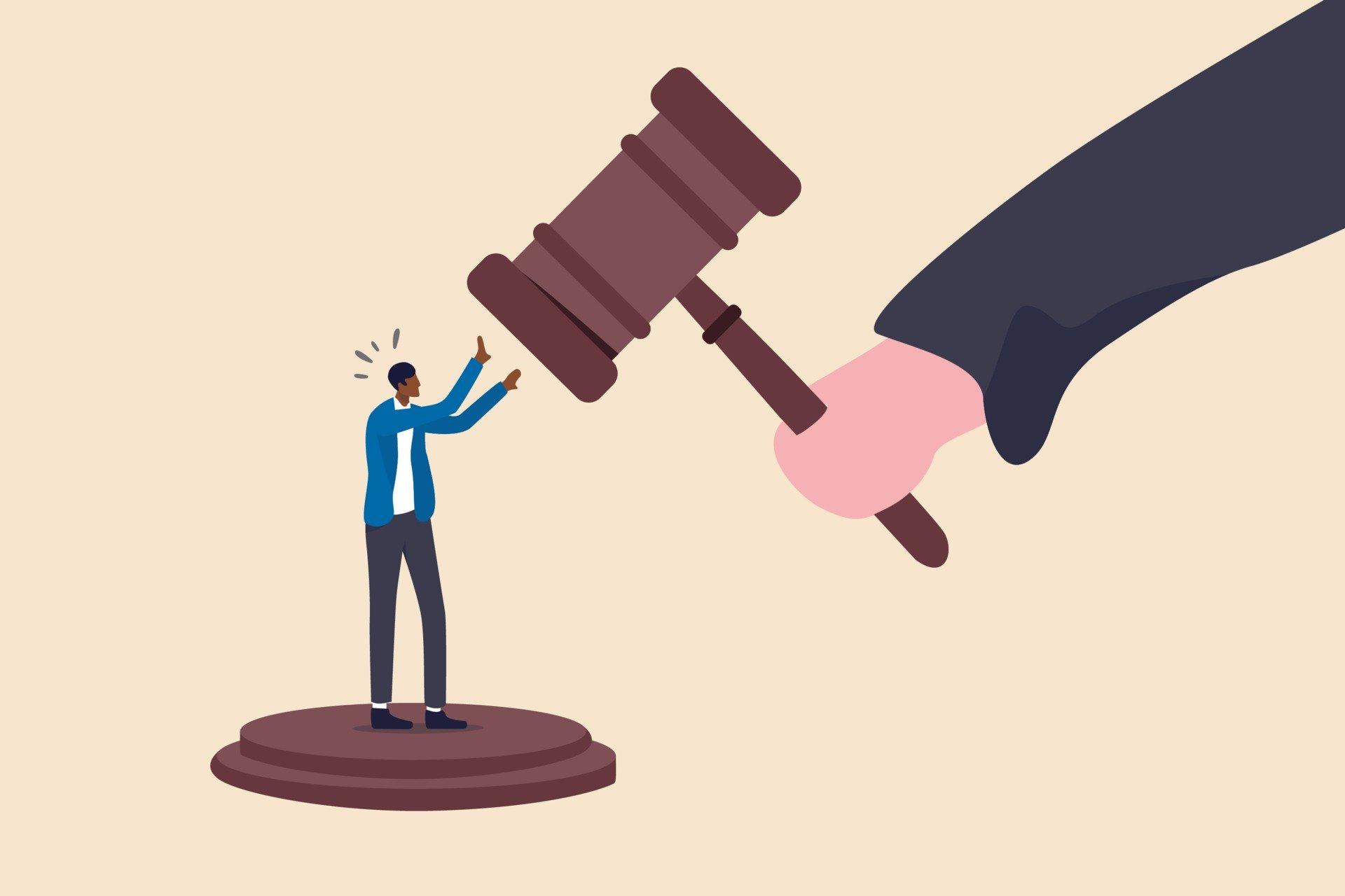 Il marcio della magistratura colpisce anche noi. Serve un aiuto