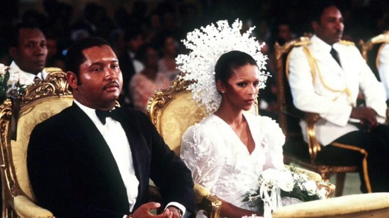 Jean-Claude Duvalier e Michelle Bennett