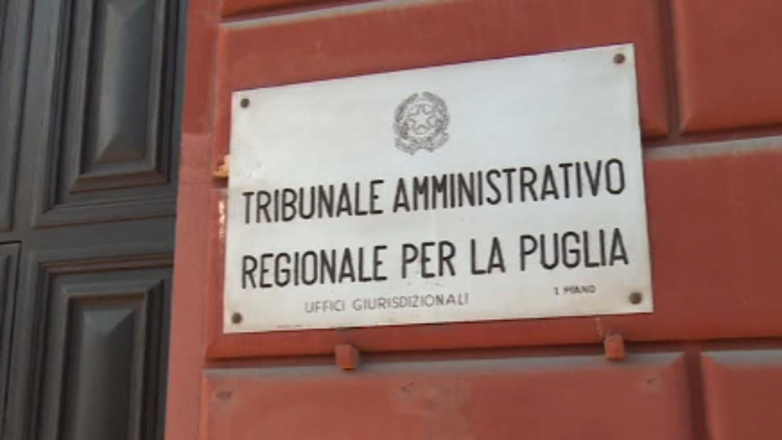 Il TAR della Puglia è un (timidissimo) barlume di speranza