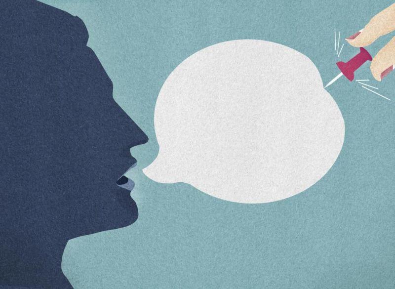 silenzio censura esclusione