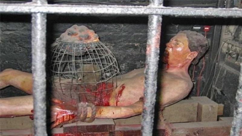 la tortura del calderone