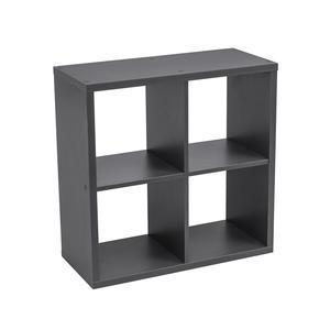 cube 4 cases 66 x 30 x h 66 cm gris
