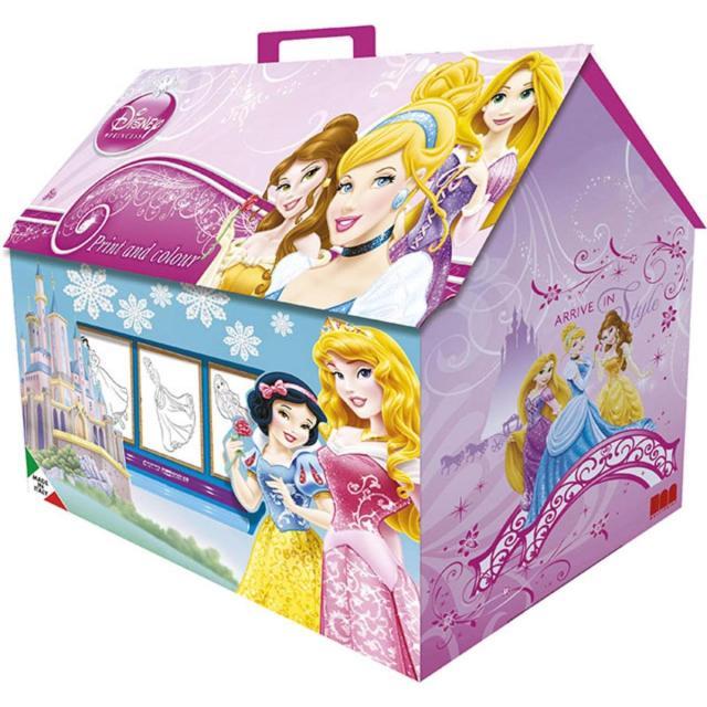 Ensemble coloriage Princesses Disney - Multicolore - Départ en