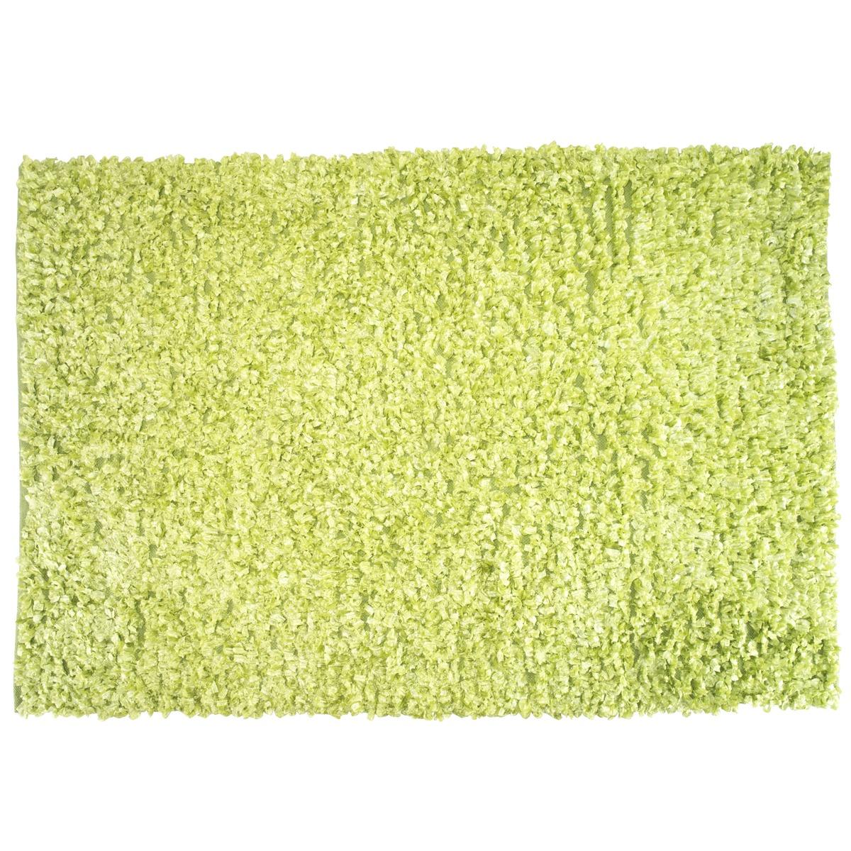 tapis shaggy 120 x 170 cm vert anis