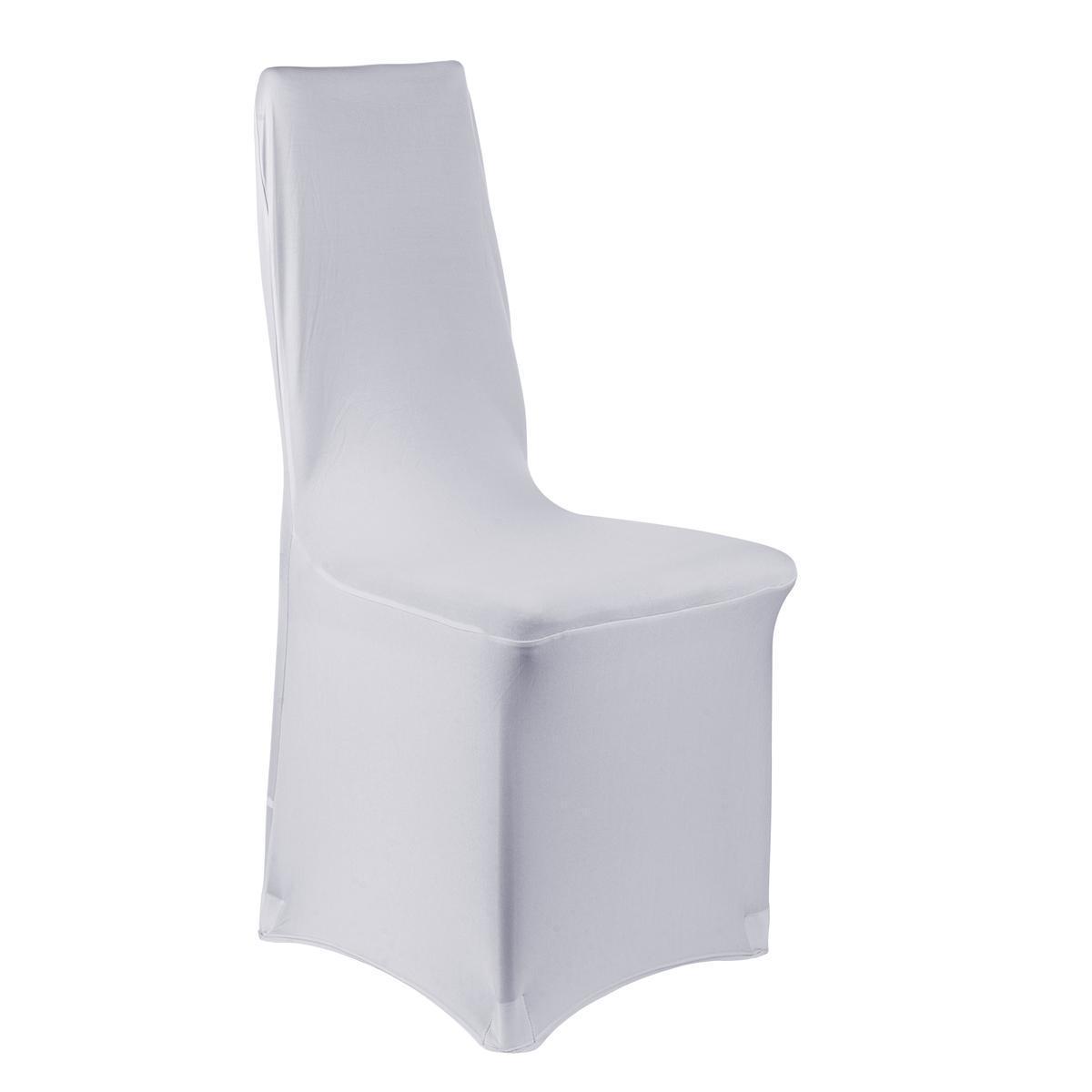 housse de chaise extensible gris