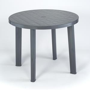 table ronde mobilier de jardin la