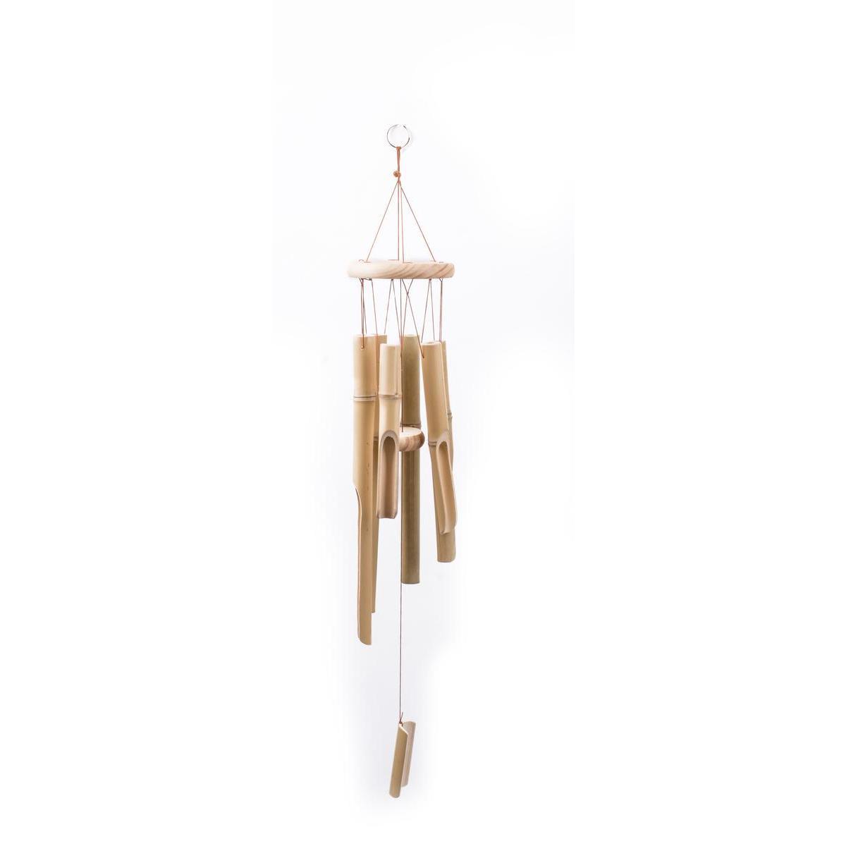 carillon en bambou moorea