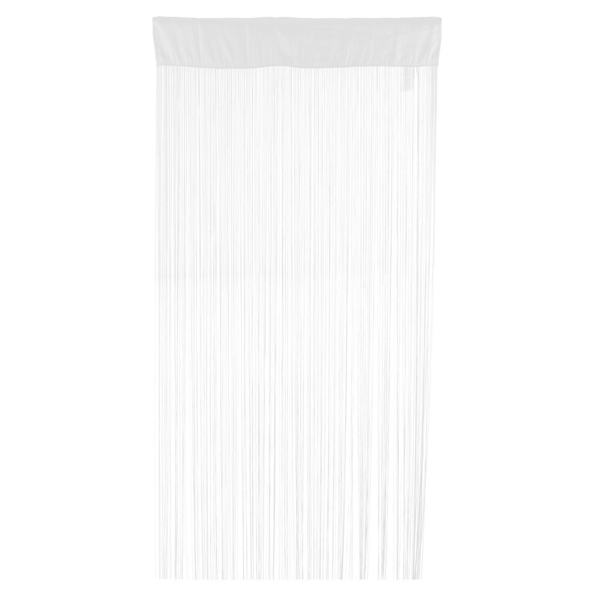 rideau de fils blanc paire de vitrage