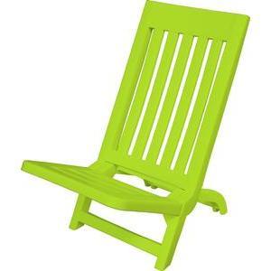 chaise de plage rose plein air la